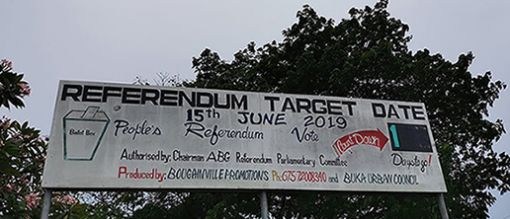 Bougainville's historic referendum
